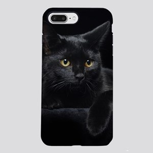 Black Cat iPhone 7 Plus Tough Case